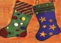 Cómo hacer una bota de navidad 2