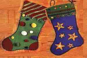 bolsas de regalo bota navidad