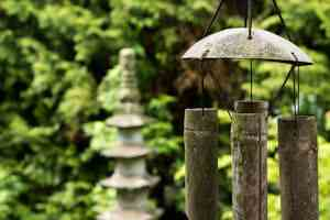 Armonía en el jardín Feng shui