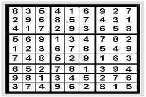Jugando Sudoku