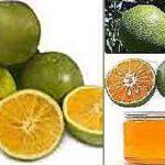 Té adelgazante de naranjas verdes