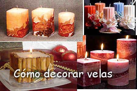 Como hacer velas y decorarlas
