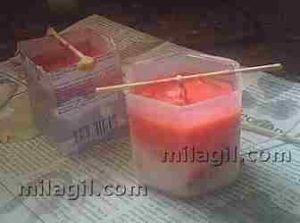 como hacer una vela