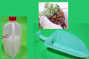 Como reciclar envases plásticos potes