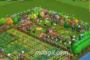 Farm Town en Facebook. Ciudad granja