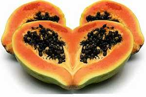 Vegetales y frutas para quitar el hambre lechosa