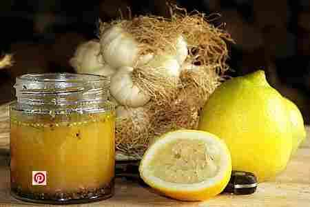 Ajo y limón receta salud remedio casero