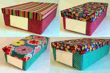 Ideas súper prácticas para reciclar cajas de zapatos