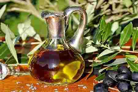 aceite de oliva cáscaras limón