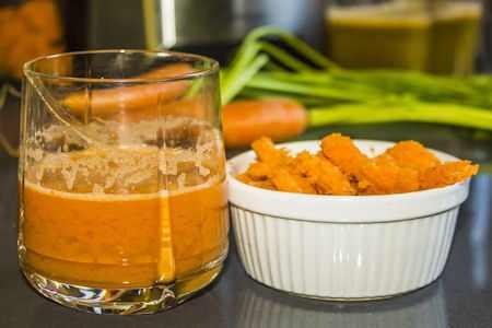 jugo de zanahorias intestino