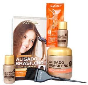 alisado Brasileño Kativa como aplicarlo