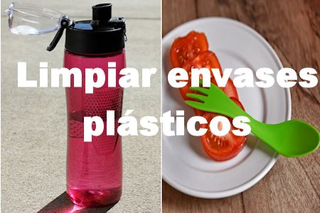 limpiar envases plásticos