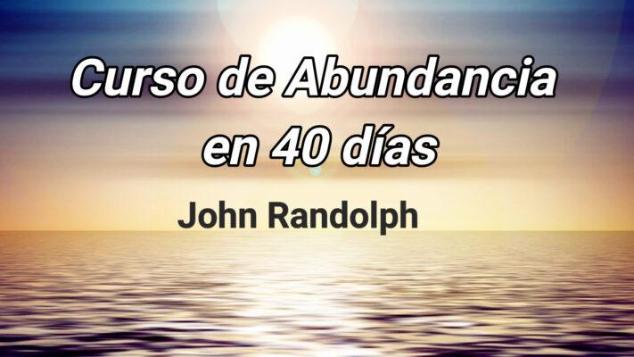 curso de abundancia en 40 días